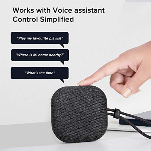 Mi Outdoor Bluetooth Speaker (5W) Upto 20 Hours of Battery Life, Dynamic Sound Effect, IPX5 Splash Proof Design, Supports Voice Assistant, Bluetooth 5.0 Dual Mode