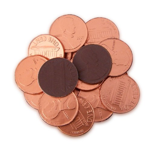 Chocolate Coins Wedding Favors - Fort Knox Chocolate Giant Pennies, 144-Count