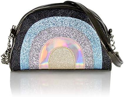 Rainbow Purse Hippy Style rainbow purse Small festival purse