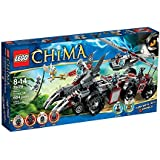 Lego Legends of Chima 70009 - Worriz' Großer Wolfstruck