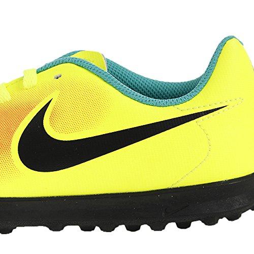 Nike Jungen Jr Magistax Ola Ii Tf Fußballschuhe Amarillo (volt/black-total orange-clear jade)