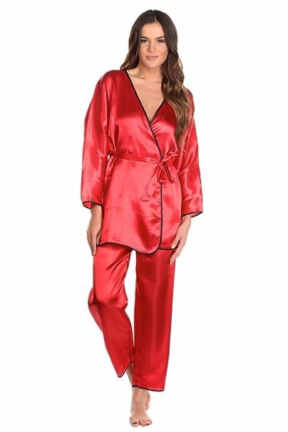Lili & Zoe - Pijama - para mujer rojo rojo