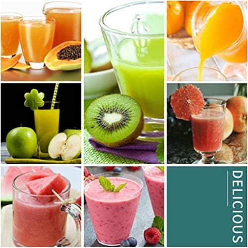 Zxb-shop Exprimidor Inicio Retro Fruit y Vegetal de Cocina Máquina de Fruta Fresca Smoothie del Mezclador exprimidor de Fruta