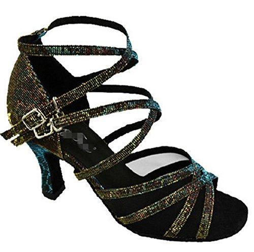 zapatos latinos femeninos / zapatos de baile profesionales / RendimientoFormación