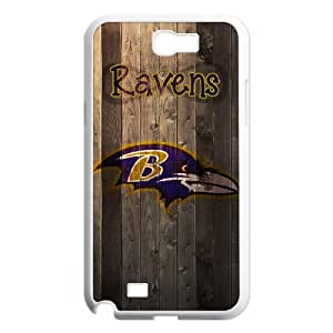 Baltimore Ravens Samsung Galaxy N2 7100 Cell Phone Case White DIY gift zhm004_8680884