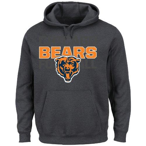 NFL St. Louis Rams Men's 1st and Goal VI Fleece, Charcoal, (Louis Rams Mens Sweatshirts)