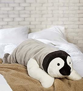 Plush Animal Body Pillows : Amazon.com: Super Soft Penguin Body Pillow Bedtime Cuddly Plush Toy Animal 3 L: Home & Kitchen