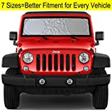 Windshield-Sun-Shade-for-Jeep-Wrangler-Rubicon-Toyota-FJ-Cruiser-XS