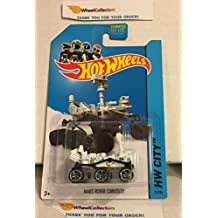 Mars Rover Curiosity #71 White 2014 Hot Wheels G18