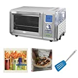 Cuisinart CSO-300 Combo Steam & Convection Toaster Oven (Stainless Steel) Includes 2 Large Slotted Turners and 2 Cookbooks (Certified Refurbished)
