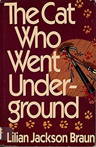 book cover of The Cat Who Went Underground