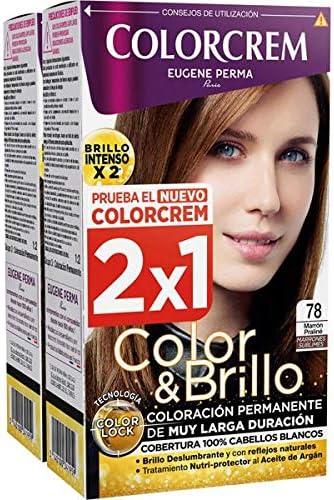 Colorcrem Tinte 2X1 78 Marr Praline 750 gr: Amazon.es: Belleza