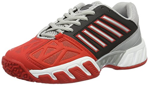 K de Swiss Multicolore Light Black Red 3 Omni Tennis Fiery Bigshot Chaussures JNR Silver Performance Garçon 8ArUw8xqC