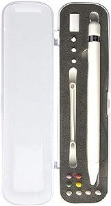 Kiss-Burn Holder Case for Apple Pencil, Storing Apple Pencil 1/2 Generation and Apple Pencil tip, Apple Pencil Accessories, Apple Pencil Nib Protective Sleeve(5 Pack)/Two-Finger Gloves/Pen Cover
