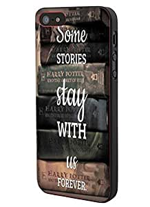 Harry Potter Old Books Stories Custom Case for Iphone 5/ 5s