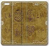 Iphone 6 Plus case,Iphone 6 Plus Flip Case with Avatar the Last Airbender Anime Wallpaper Design