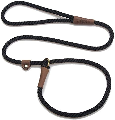 Mendota Pet Slip Leash Dog Lead and Collar Combo Made in The USA