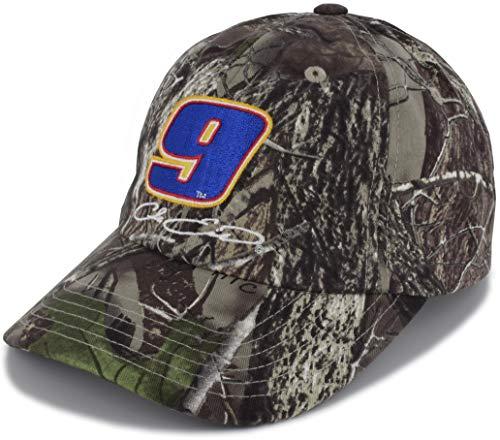 Checkered Flag Chase Elliott TrueTimber Camo Big Number #9 NASCAR Hat