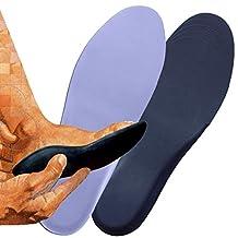 FootMatters Extra Light Self-Molding Custom Comfort Orthotic Insoles - Help Relieve Arthritis, Flat Feet, Foot, Heel & Arch Pain - Custom Molds to Your Feet - Super Lightweight - Trim to Fit - Men
