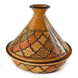 Le Souk Ceramique Serving Tagine, Honey Design