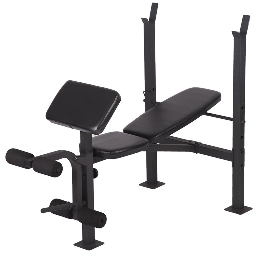 FDW Adjustable weight lifting multi-function bench fitness exercise strength workout