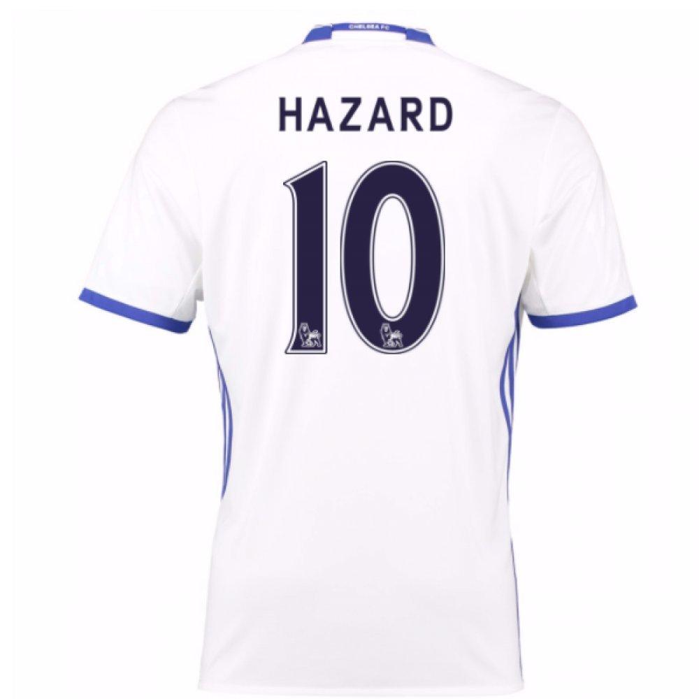 2016-17 Chelsea 3rd Football Soccer T-Shirt Trikot (Eden Hazard 10) - Kids
