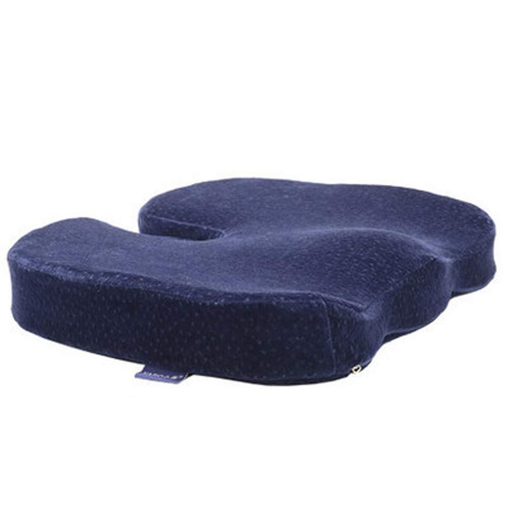 Sofa Cushion Beautiful Buttocks U-Shaped Relieve Back Sciatica Pain Tailbone Suitable for Office Chair Kitchen Chair Sofa car seat Cushion,C qqHAO