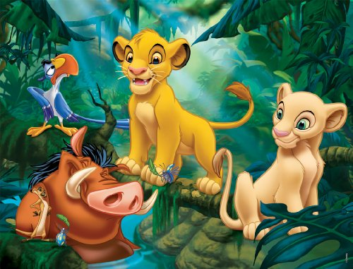 frame-puzzle-30-pieces-the-lion-king-simba-and-friends