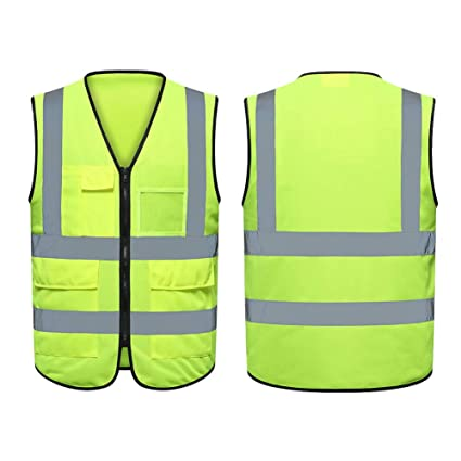 Workplace Safety Supplies Security & Protection Safety Vest Traffic Fluorescent Light/ Mesh Vest