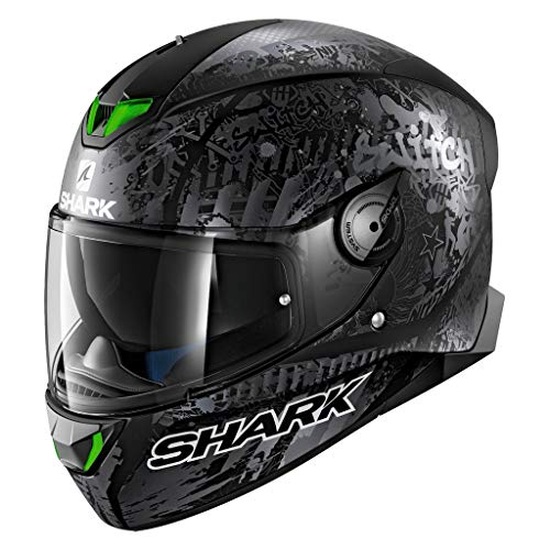 (SHARK Helmets SKWAL 2 Switch Rider Matte LED Technology Helmet)