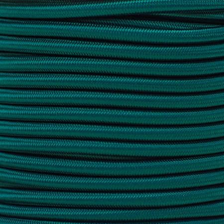 25 Feet, Kelly Green Made in USA Lengths up to 1000 feet West Coast Paracord Marine Grade Shock Cord 1//4-inch