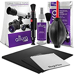 Altura Photo Professional Cleaning Kit For Dslr Cameras & Sensitive Electronics Bundle With 2oz Altura Photo Spray Lens & Lcd Cleaner