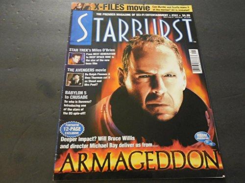 Starburst Magazine Sept 1998 #241, The Avengers Movie, Babylon 5