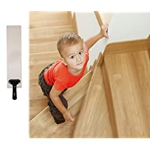 """EdenTapes(15-PACK)Pre Cut Transparent 24""""x 4"""" Anti Slip Clear Tape , Family Safety For Kids, Elders And Pets, Adhesive Stair Treads, Indoor, Outdoor, Prevents Slipping, Easy Installation KIT, PVC-FREE"""