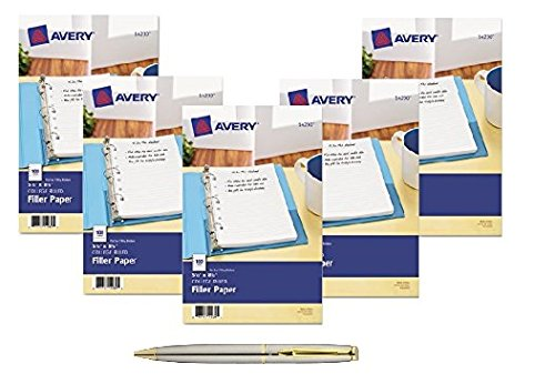 Avery Filler Paper Inches Sheets