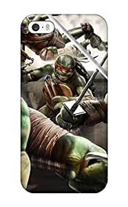 Excellent Design Teenage Mutant Ninja Turtles Out Of The Shadows Game Phone Case For Iphone 5/5s Premium Tpu Case