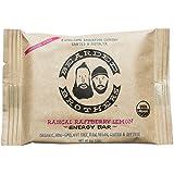 Bearded Brothers Paleo Energy Bars, Organic Source of Protein, Vegan and Gluten Free (12 Pack: Raspberry Lemon)
