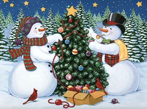 """ダイヤモンド絵画キットフルドリル–5d DIYクリスマスデコレーションArts & Crafts Blingアートワーク装飾クリスタルラインストーン原石セット、楽しいクリエイティブRelaxationアクティビティ12x 16"""" 30x 40cm BSCSDP1879"""