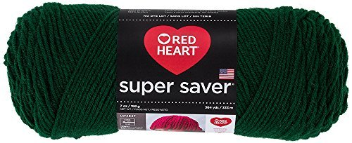 Price comparison product image Coats Yarn Red Heart Super Saver Yarn-Hunter Green,  Other,  Multicoloured by Coats: Yarn