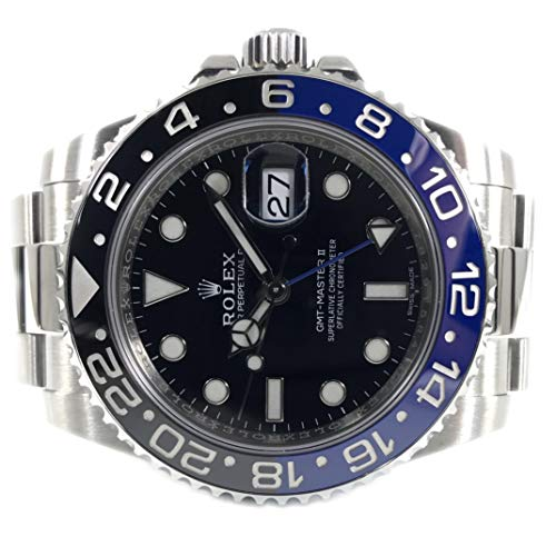 Rolex Oyster Perpetual GMT Master II Men's Watch 116710BLNR (Gmt Master Ii Rolex)
