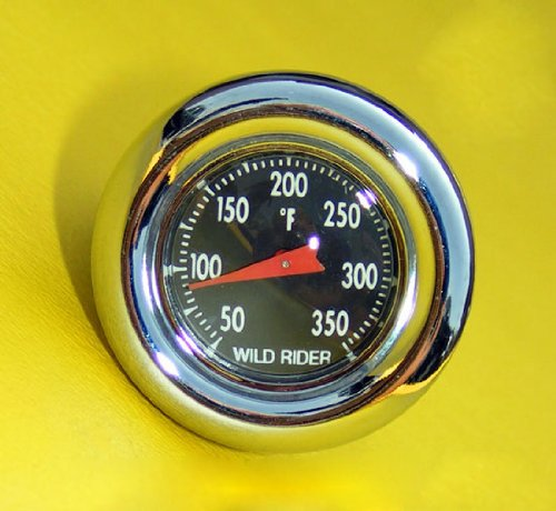 Oil Plug / Temperature Gauge for Harley-Davidson Big Twins Oil Tanks (Gauge Davidson Harley Temperature Oil)