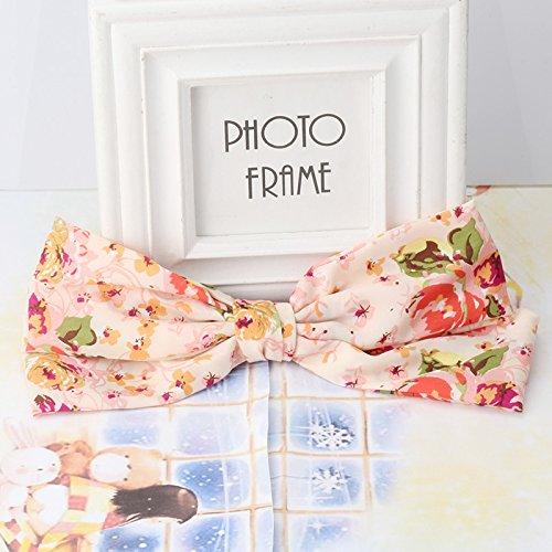 Pyrsun(TM) Korean Bowknot Floral Hair Clips Elegant Barrettes Big Clip Clamp Girls Hair Accessories Women Bow Hairpin Butterfly Hairclips