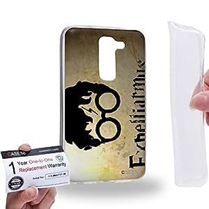 Case88 [LG G2 mini] Gel TPU Carcasa/Funda & Tarjeta de garantía - Art Fashion Design Wizard Magic Spell Expelliarmus Art4047