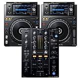 Pioneer DJ XDJ-1000MK2 Media Players (2) with DJM-450 DJ Mixer