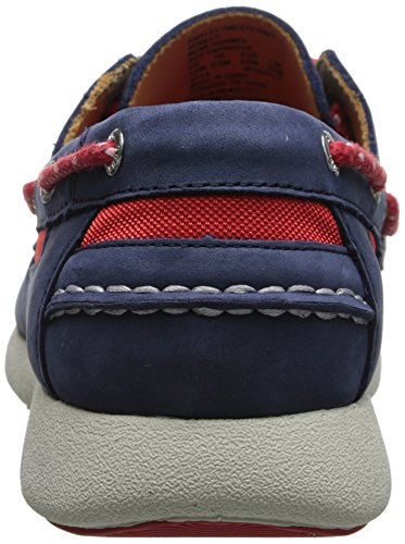 Sebago Mens Kinsley Due Occhi Oxford Blu Scuro Nabuk