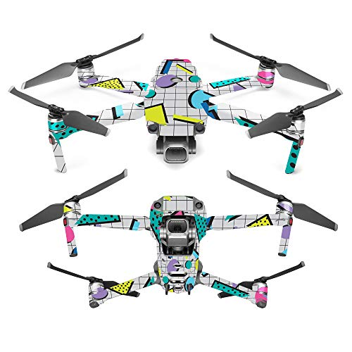 MightySkins Skin for DJI Mavic 2 Pro or Zoom - Awesome 80s | Protective, Durable, and Unique Vinyl Decal wrap Cover | Easy to Apply, Remove, and Change Styles | Made in The USA