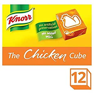 Knorr Chicken Stock Cubes - 12 x 10g