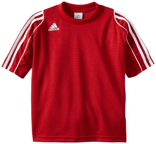 adidas Squadra II Soccer Jersey (Scarlet) - Youth (Adidas Predator Soccer Shorts)