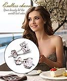 Stud-EarringsUhibros-Sterling-Silver-Birthstone-Round-Cubic-Zirconia-Diamond-Earrings