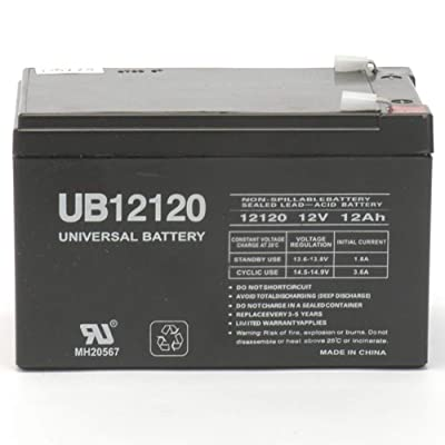 Universal Power Group 12V 12Ah F2 Wheelchair Scooter Battery Replaces Toyo 6FM12 : Sports Scooter Batteries : Sports & Outdoors